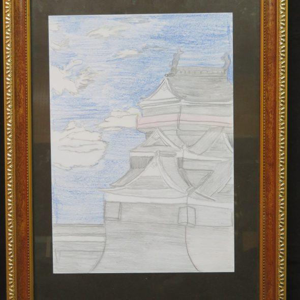 昭和51年(1976)旧熊本城ありし日の第3天守閣(宇土櫓)